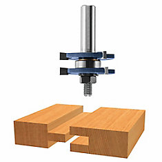 1-7/8 inch x 1/4 inch Carbide Tipped Tongue and Groove Bit
