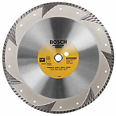 14 inch Premium Plus Turbo Rim Diamond Blade for Smooth Cuts
