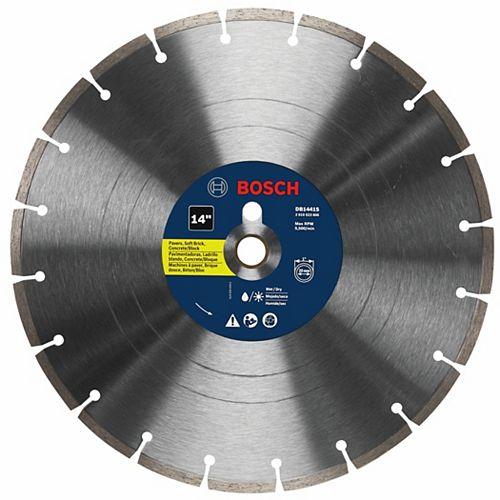 Bosch 14 inch Standard Segmented Rim Diamond Blade for Universal Rough Cuts