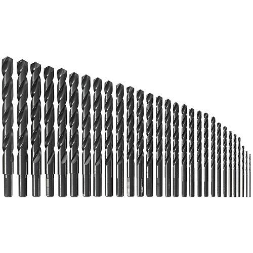 Bosch 29 pc. Black Oxide Metal Drill Bit Set