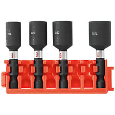 4 pc. 1-7/8 inch Nutsetters with Clip for Custom Case System