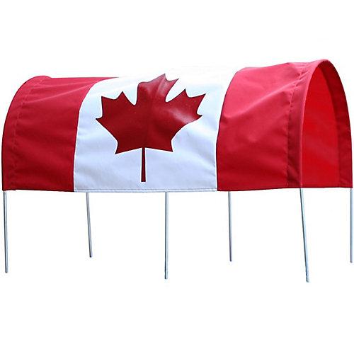 Baldaquin drapeau du Canada 16X34 po