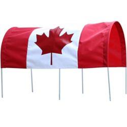 Millside Industries Canada Flag Full Canopy for 16 X 34 inch Wagon
