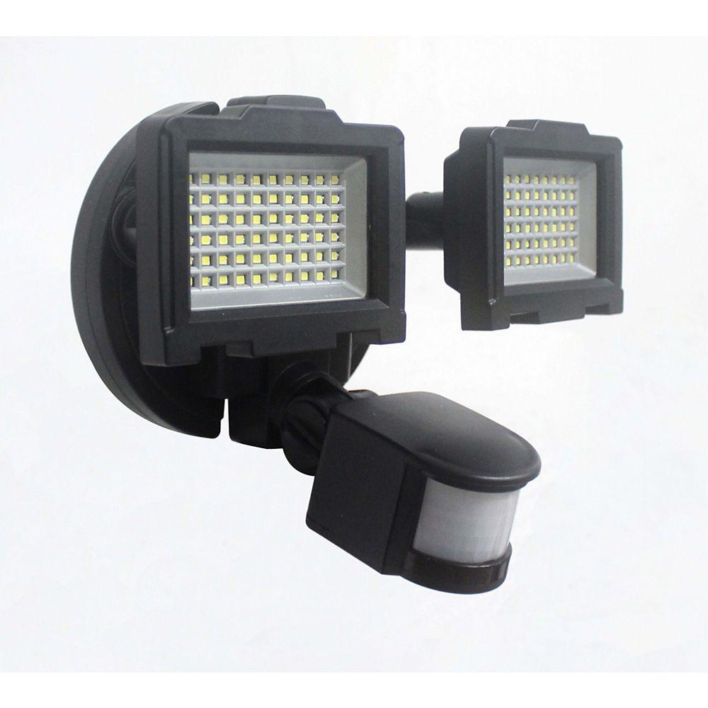 Nature Power Solar Motion Sensor 120-LED Outdoor Security ...