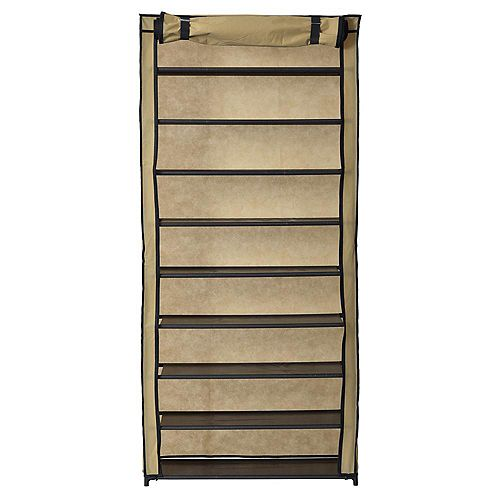 Muscle Rack Shoe Organizer With Cover (30-Pair)