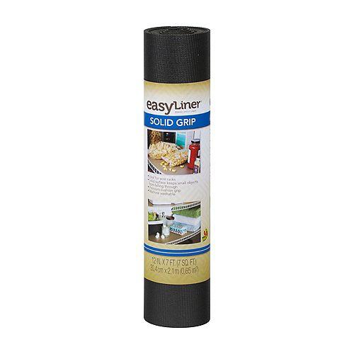 EasyLiner 12 inch X7 ft.  Solid Black Shelf Liner