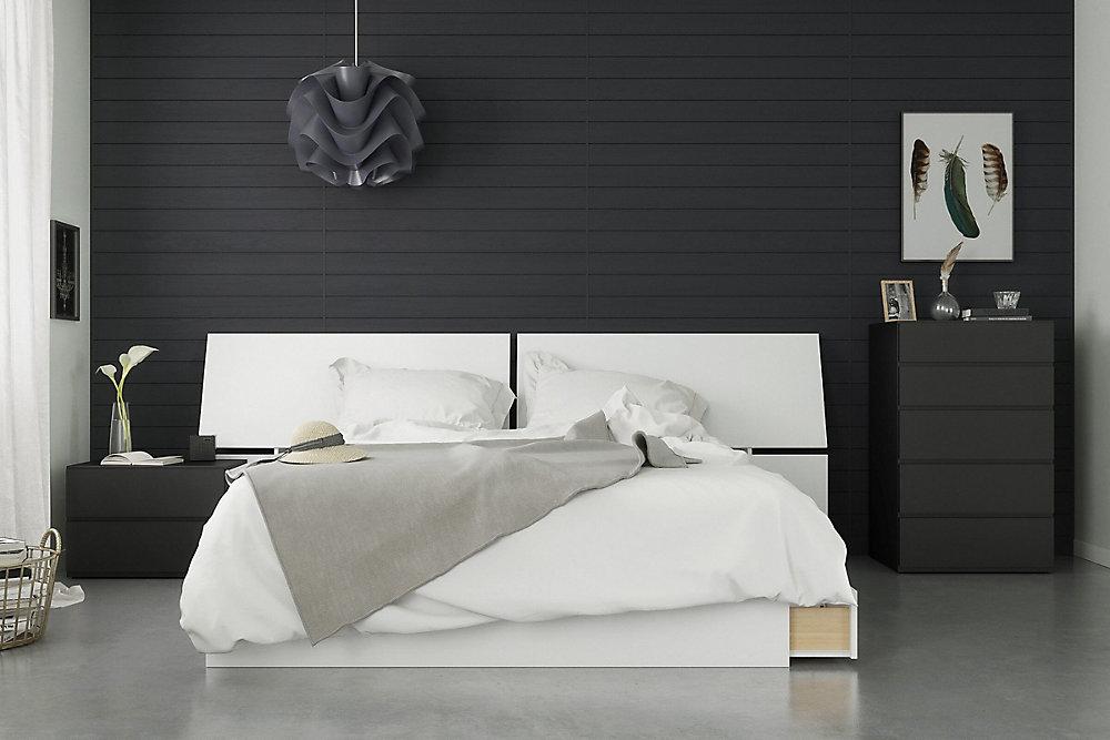 Pleasing Context 4 Piece Queen Size Bedroom Set Black And White Download Free Architecture Designs Pendunizatbritishbridgeorg