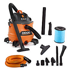 NXT 53 L (14 Gal.) 6.0 Peak HP Wet Dry Vacuum with Auto Detailing Kit