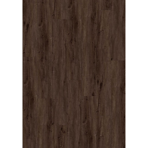 "5005 Trivor Everest SPC Flooring 7.17"" X 72""  Pad Attached"