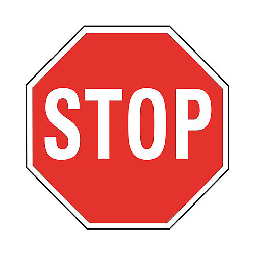 24 inch Stop Sign