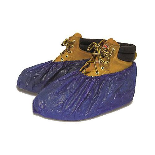 Shubee Waterproof Shoe Covers In Dark Blue (40-Pair/Box)