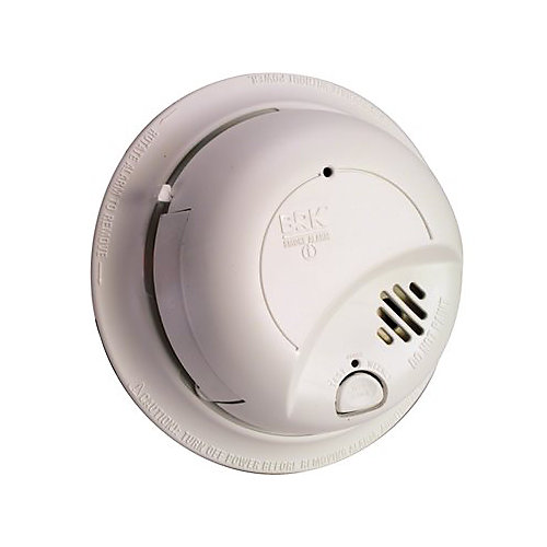 120-V Hardwire, Ionization Sensor Smoke Alarm Detector Perfect Mount With Battery Backup