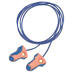 Laser Trak High Visual And Metal Detectable Earplugs Corded