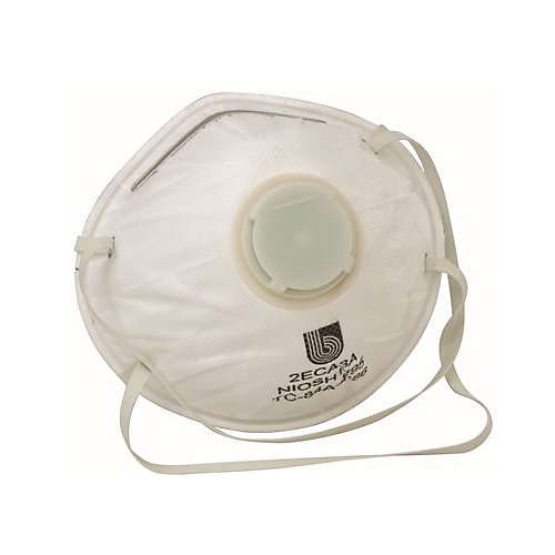 Legendforce - N95 Conical Particulate Respirator With Valve, 10 Per Box