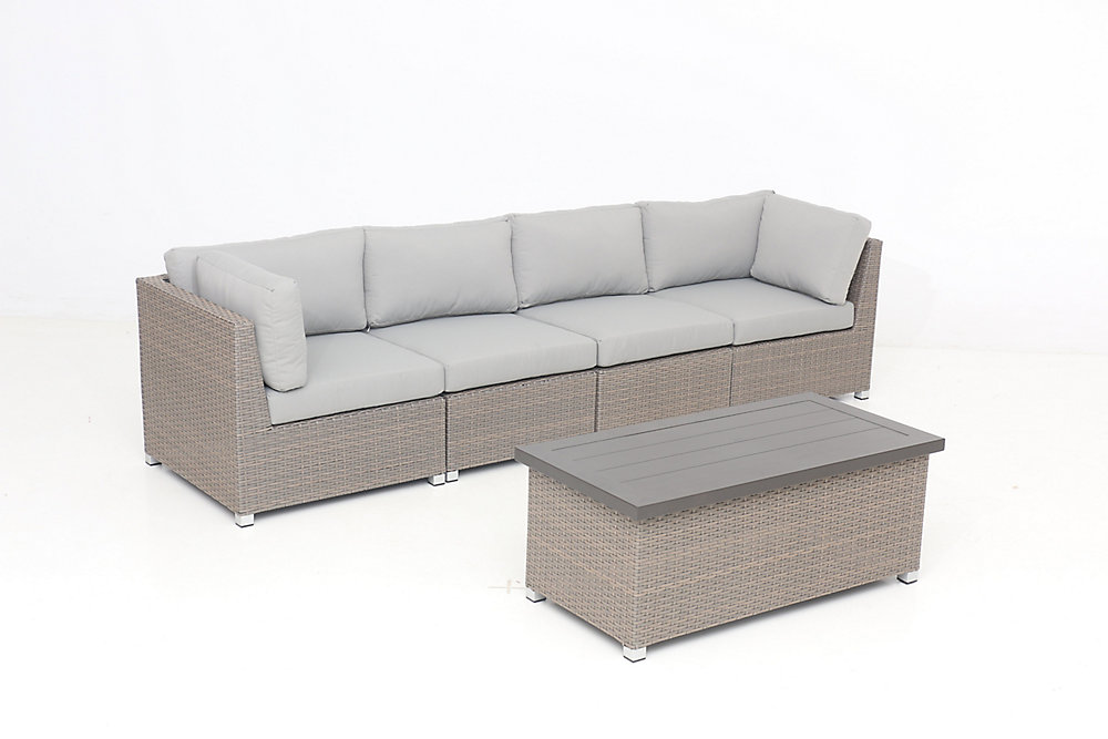 Collection Chambers Bay 5.4 avec coussins gris