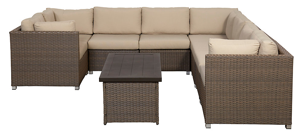 Collection Chambers Bay 9.4 avec coussins bronzage