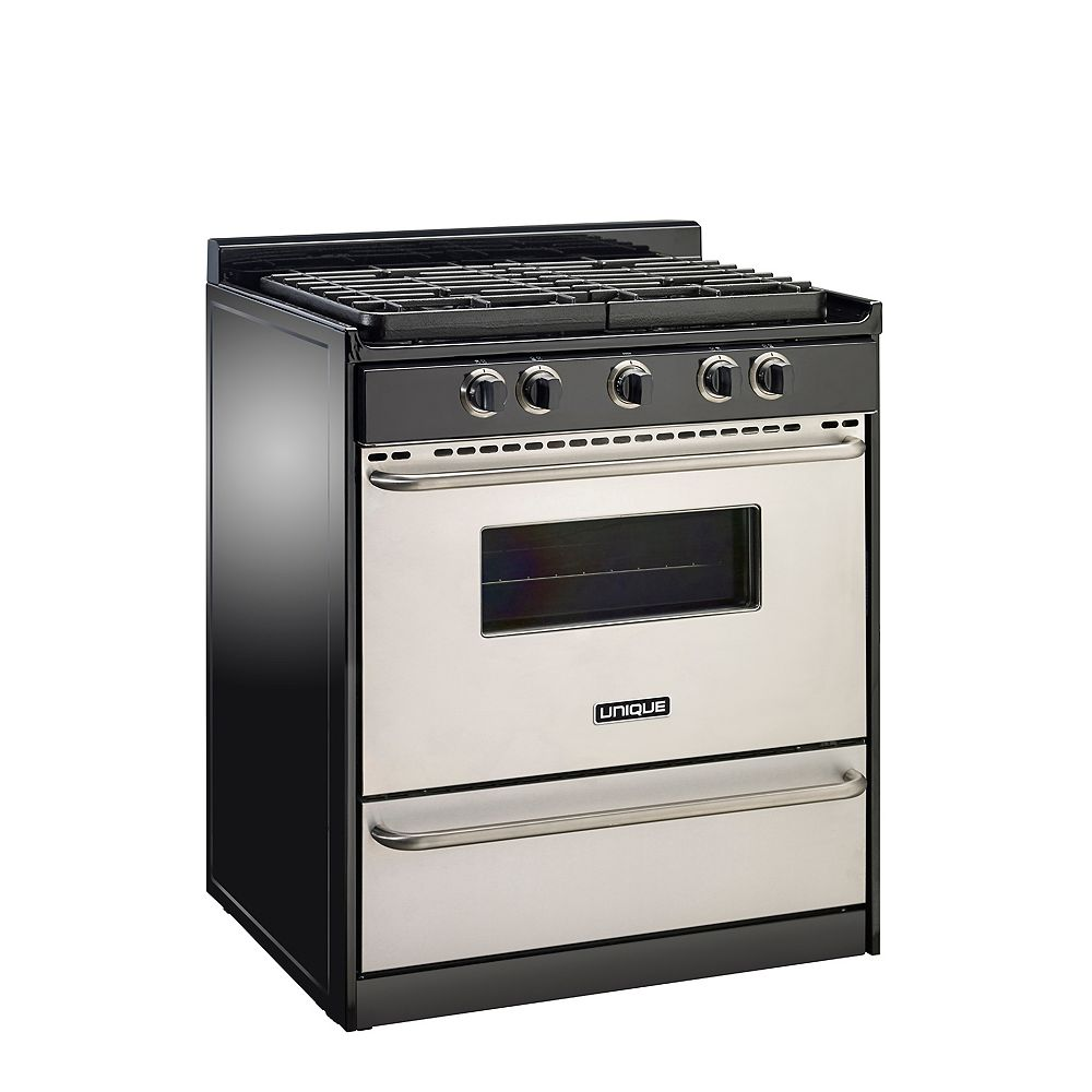 Unique Signature 30-inch  Propane Range with Battery Ignition