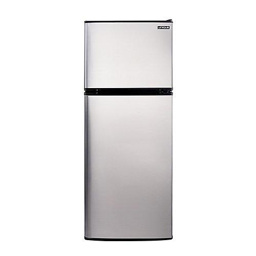 Réfrigérateur SS de 10,3 pi cu avec congélateur au haut fonctionnant à l'énergie solaire