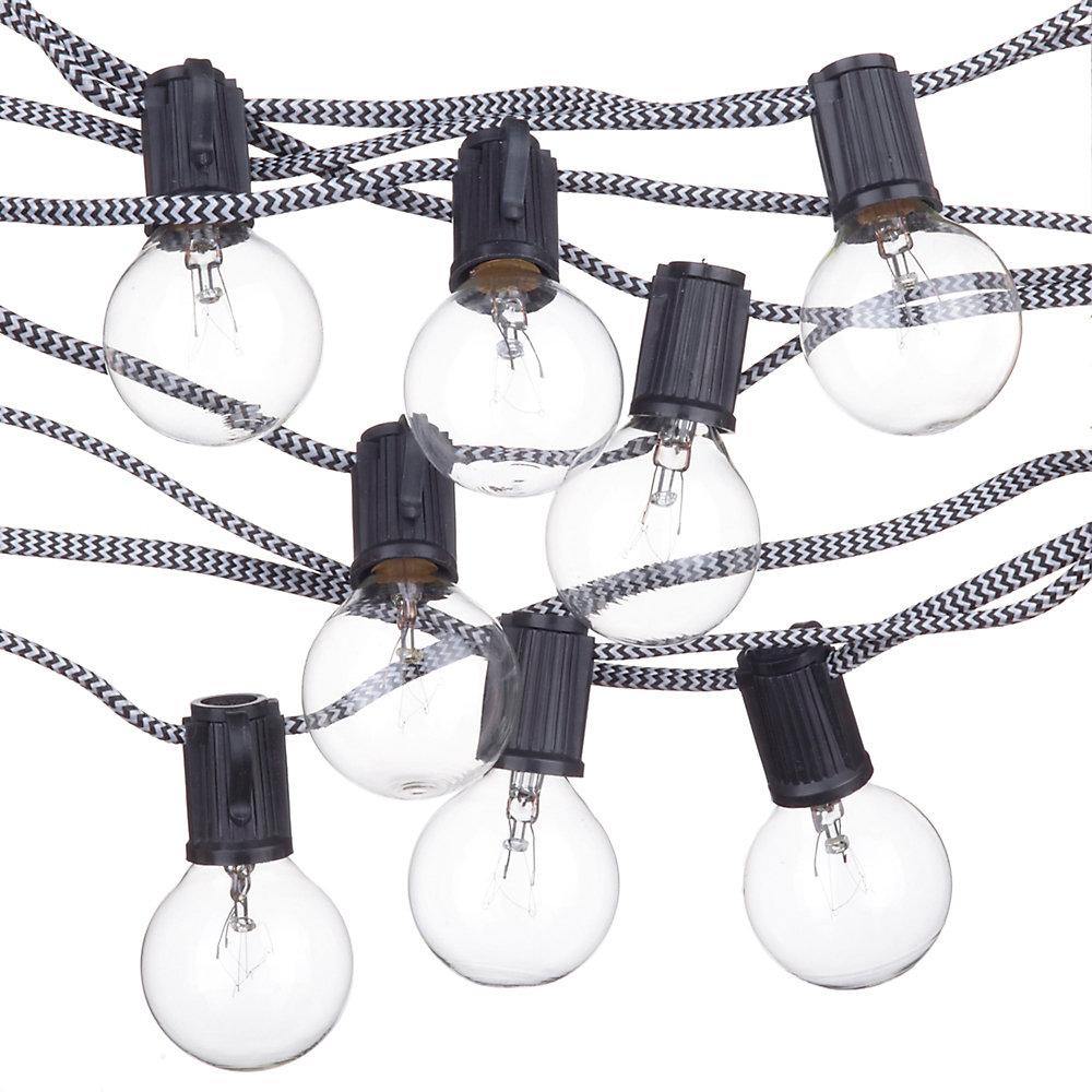 Denver Designer Series 10-Light 10 ft. Indoor/Outdoor String Light, Vintage Edison Bulbs Included