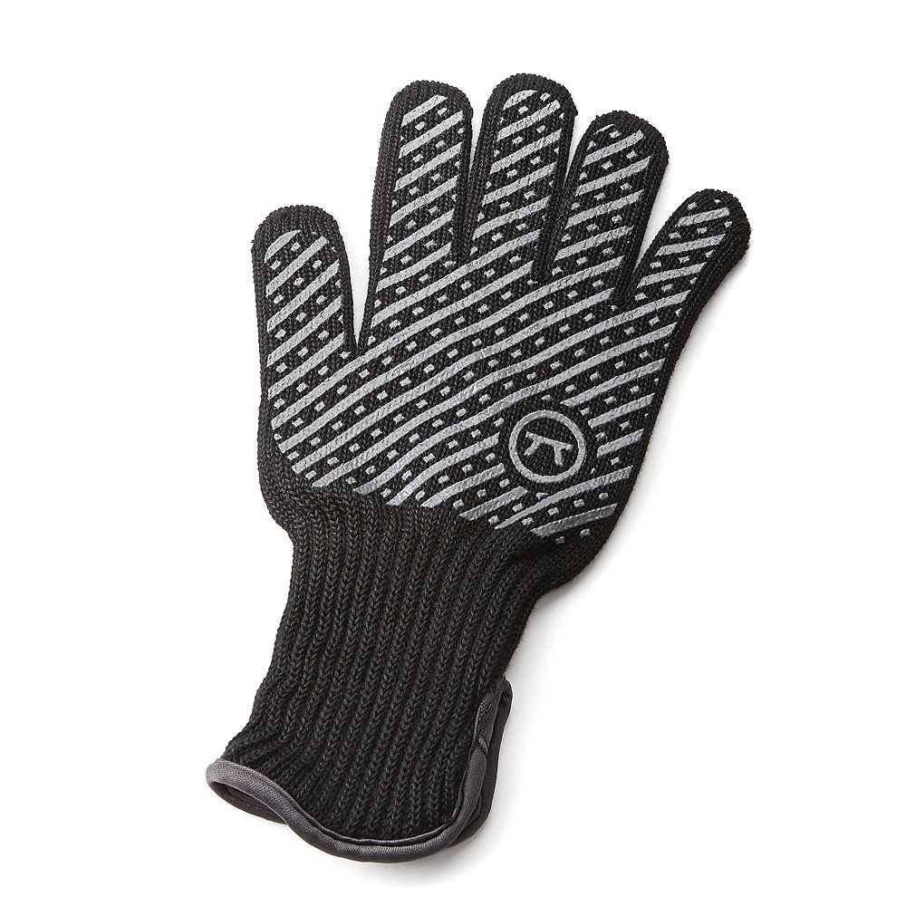 Outset Professional High Temperature Heat Deluxe Grill and BBQ Glove, Small/Medium