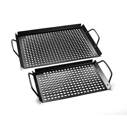 Outset Grill Grids, Nonstick, Set of 2