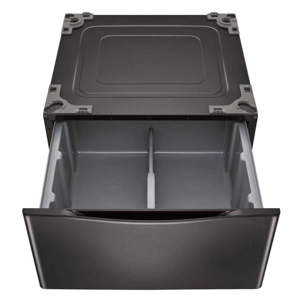 LG 27-inch Black Steel Laundry Pedestal WDP4B