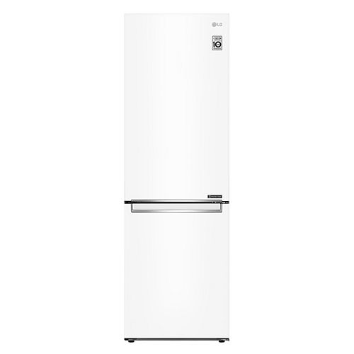 LG Electronics 24-inch W 12 cu. ft. Bottom Freezer Refrigerator in White, Apartment-Size, Counter-Depth