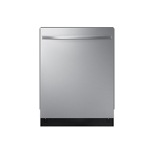 24-inch Top Control Dishwasher in Stainless Steel with Stainless Steel Tub, 48 dBA - ENERGY STAR®