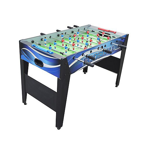 Hathaway Allure 48-in Foosball Table - Black and Blue