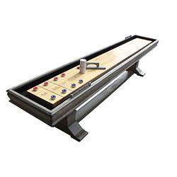 Hathaway Montecito 12-ft. Shuffleboard Table - Driftwood