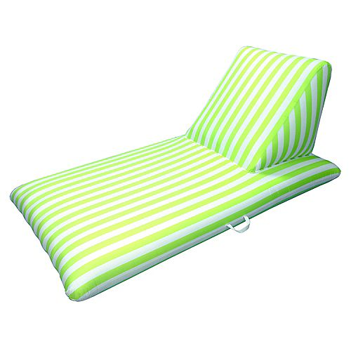 Drift and Escape Lime Green Pool Chaise Lounge - Morgan Dwyer Signature