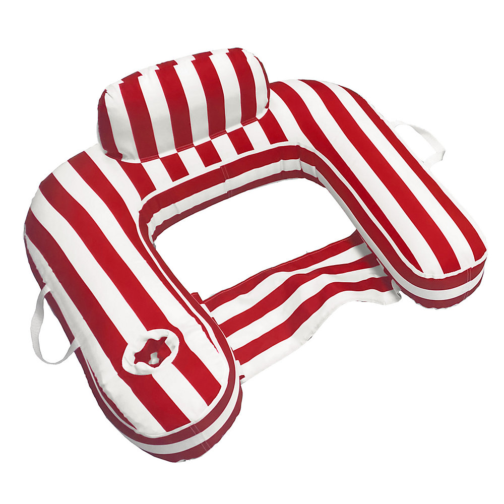 Flotteur de piscine U-Seat - Morgan Dwyer (rouge)