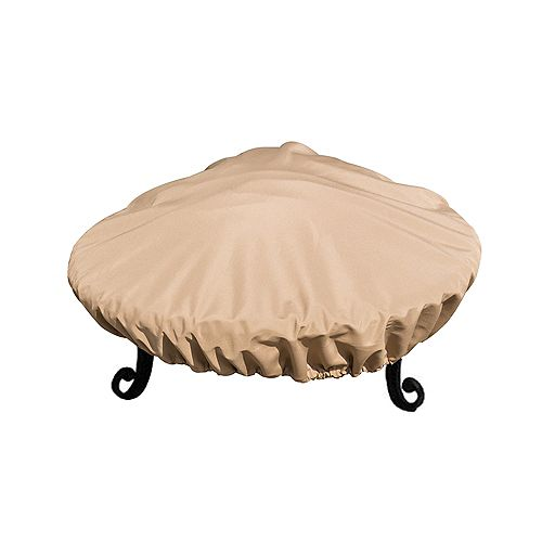 Island Retreat Sandstone Fire Pit Cover for 34 - 37-in Fire Pits