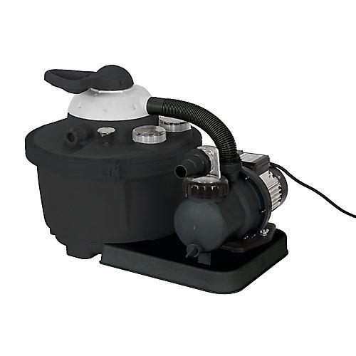 Système de filtre à sable de 16 po, 35 lb. pour les piscines hors terre