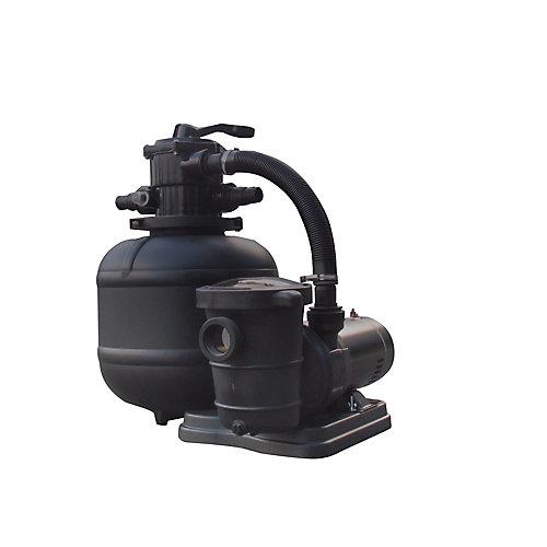Système Pro 2 19 po avec filtre de sable de 150 livres avec pompe 2SP pour les piscines hors-terre