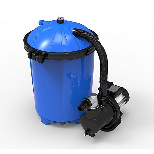 Plus système pour les piscines hors-terre de 16 po avec matériau filtrant Cotton Tails - 2640 GPH