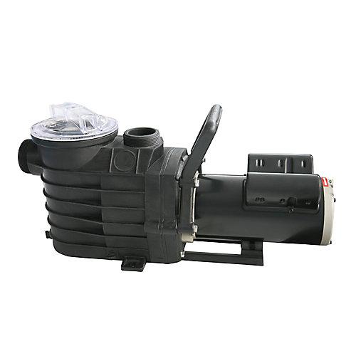 48S 1 CV, Pompe de piscine creusée à 1 vitesse avec bobines de cuivre - 2500-6000 GPH