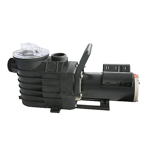 48S 1 CV, Pompe de piscine creusée à 2 vitesses avec bobines de cuivre - 2500-6000 GPH