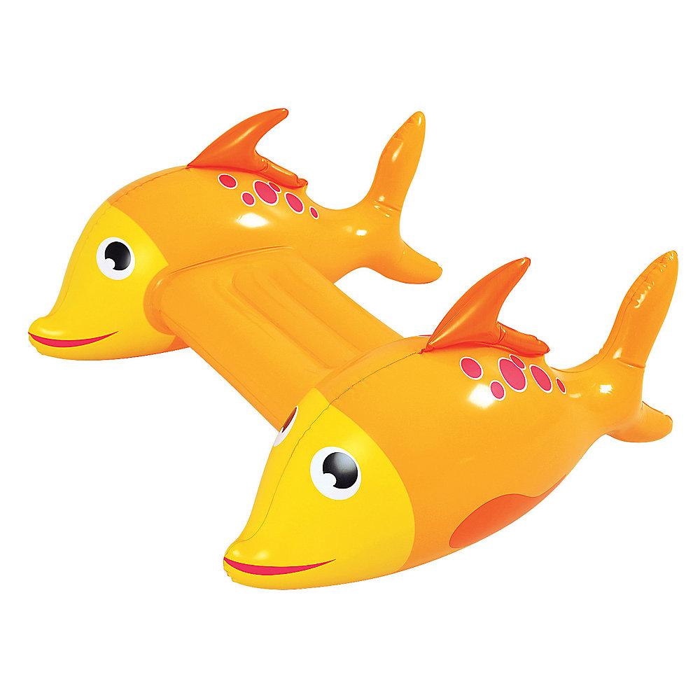 Poisson aventureux  - Planche gonflable pour piscine