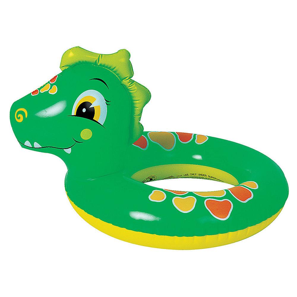 Dinosaure aventureux- Tube gonflable pour piscine