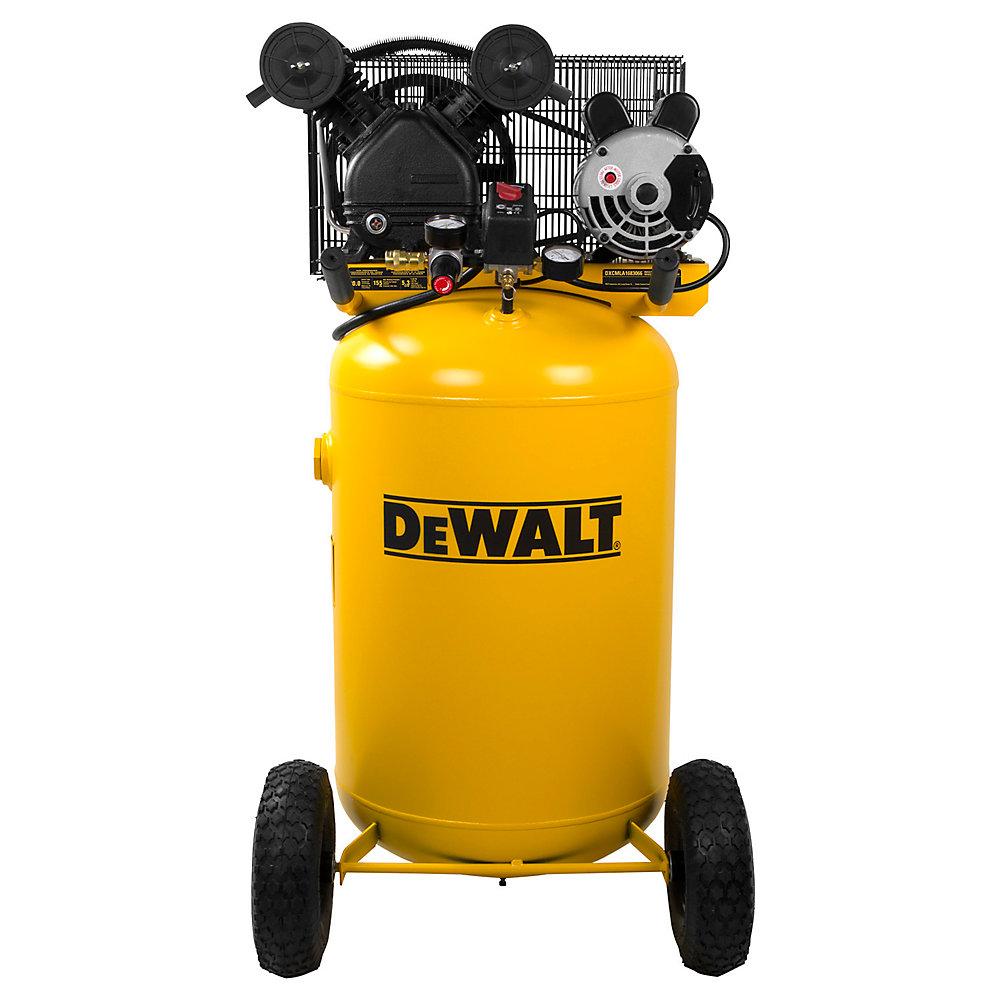 Compresseur d'air portatif électrique à un étage 1,6HP 113,6L 11bar/155psi