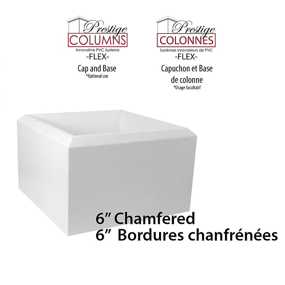 """Plinthe-PVC,CHMFRD-10 """"Col-6""""(ensemble)"""