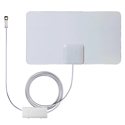 Paper Thin Smartpass Amplified Indoor HDTV Antenna - 45 Mile