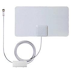 Antenne Intérieur Amplifié HDTV Mince Comme du Papier SmartPass de - 45 Miles