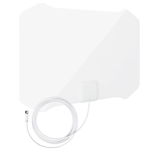 Paper Thin Indoor HDTV Antenna with Table Stand - 35 Mile
