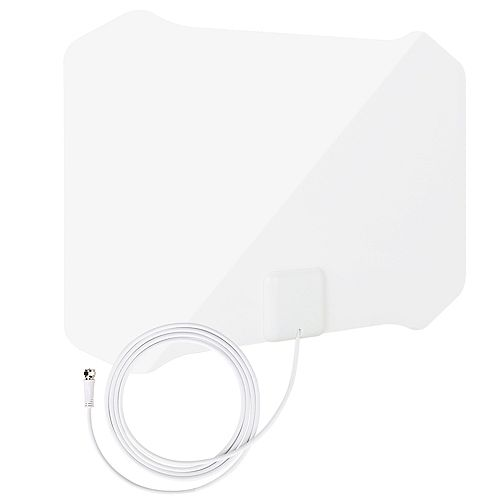 ANTOP Paper Thin Indoor HDTV Antenna with Table Stand - 35 Mile