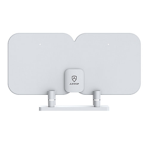 Indoor Amplified HDTV Thin Antenna with Smart Boost System, 70 Mile
