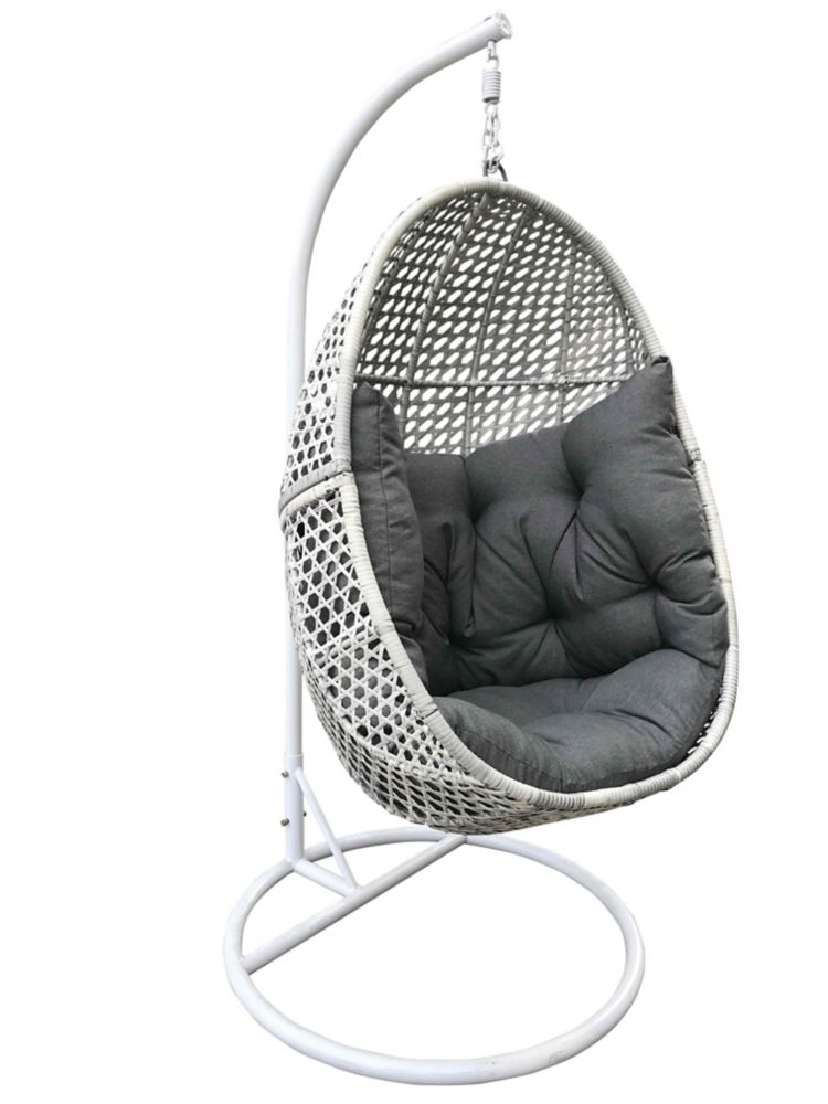 Velago Orselina All Weather Egg Swing Chair The Home