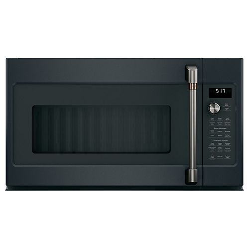 Café 1.7 cu. ft. Over the Range Convection Microwave with Sensor Cooking in Matte Black