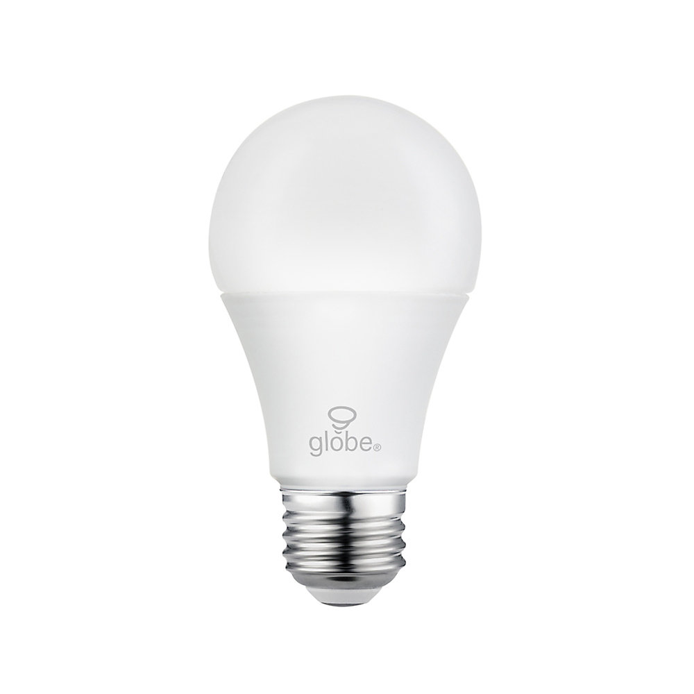 Ampoule DEL A19 avec gradateur à 3 intensités, équivalente à un éclairage blanc chaleureux de 60W